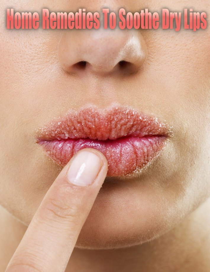 Home Remedies To Soothe Dry Lips