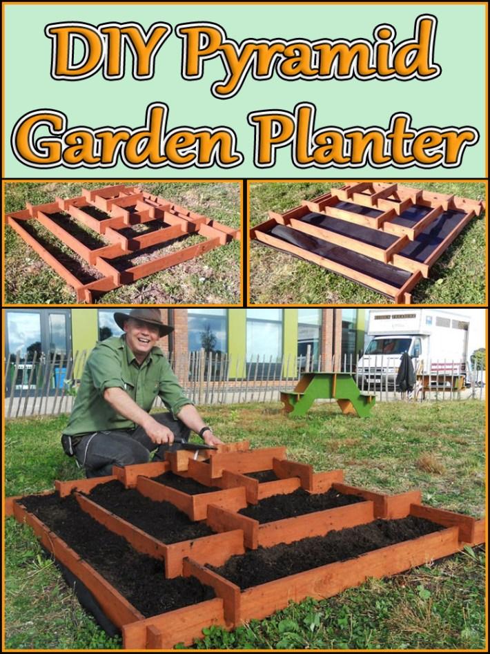 DIY – Pyramid Garden Planter