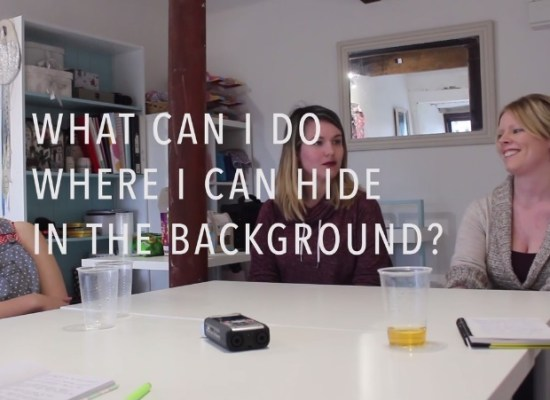 Social Anxiety Conversation - What job can I do where I can hide in the background?