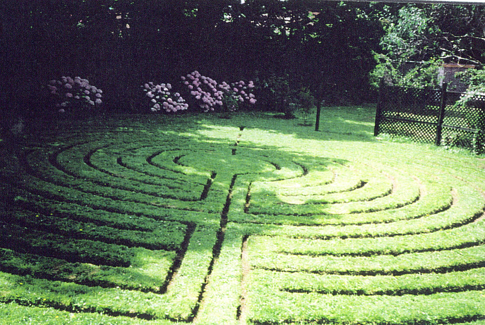 The Labyrinth and Quiet Garden, Exmouth