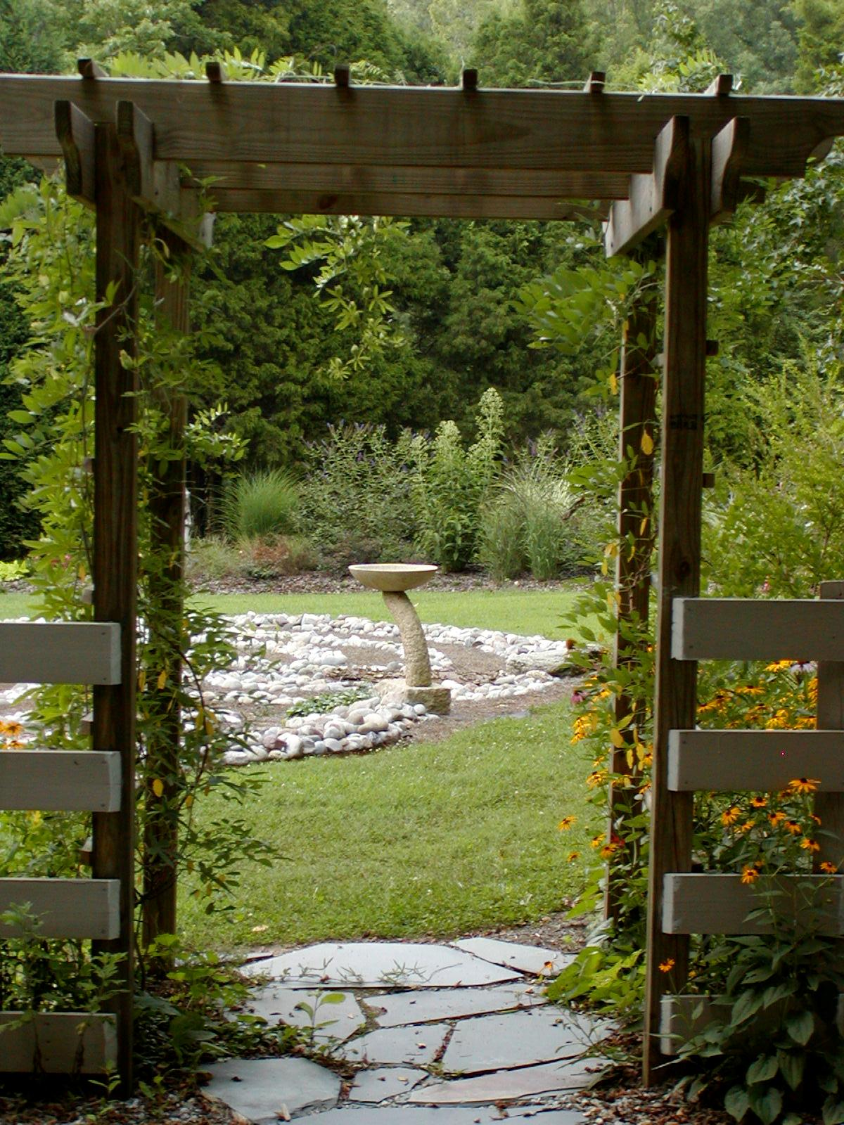 The Quiet Garden at Healing Ground