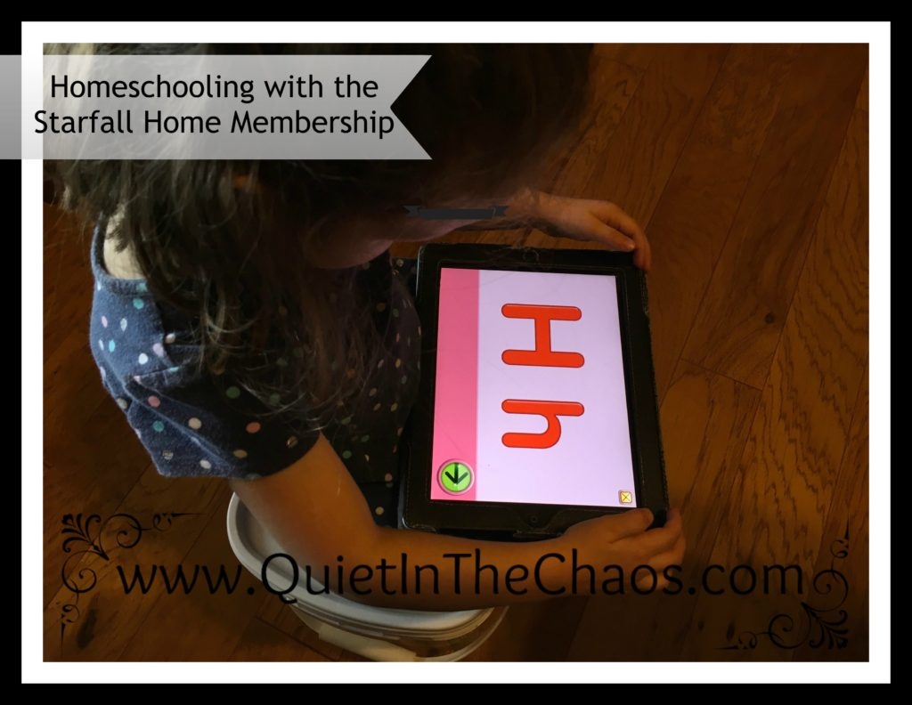 Using The Starfall Home Membership In Our Homeschool An