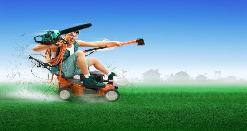 make your lawn mower quieter