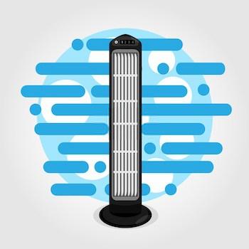 advantage of having a tower fan