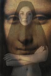 Niloufar Banisadr. Mona Lisa, 2015.   Courtesy 55Bellechasse Gallery, Paris.