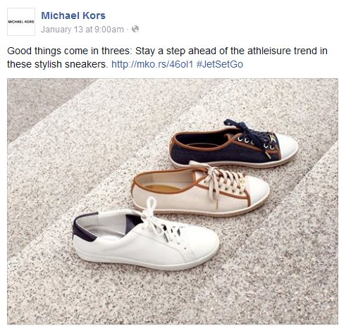 Facebook - Michael Kors