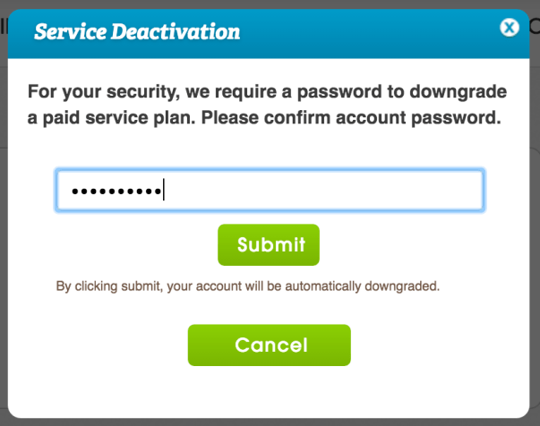 downgrade freedompop confirm password