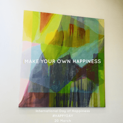 Make your own happiness