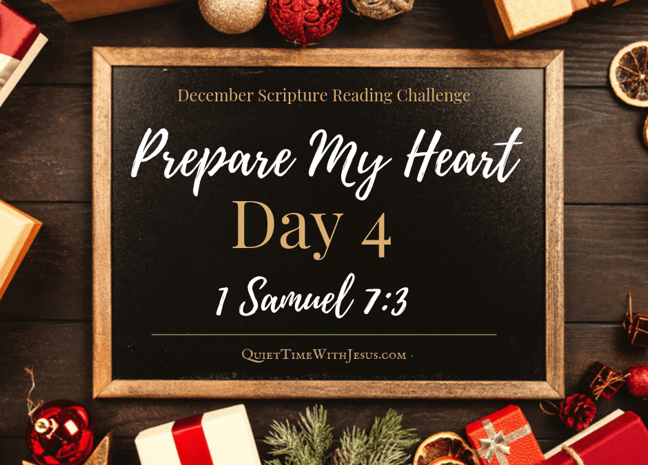 Prepare My Heart – Day 4: Get Rid of Distractions