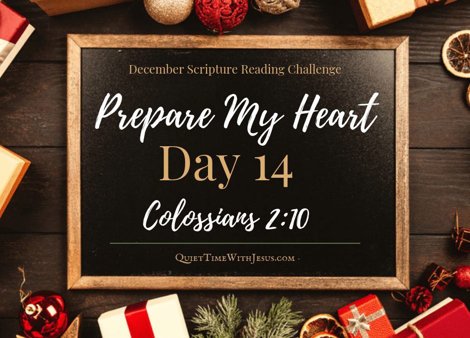 Prepare My Heart – Day 14: Complete in Christ