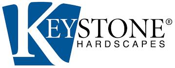 Quiett Scapes vendor, Keystone Hardscapes logo