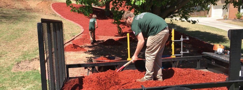 Mulch installation winder, Ga