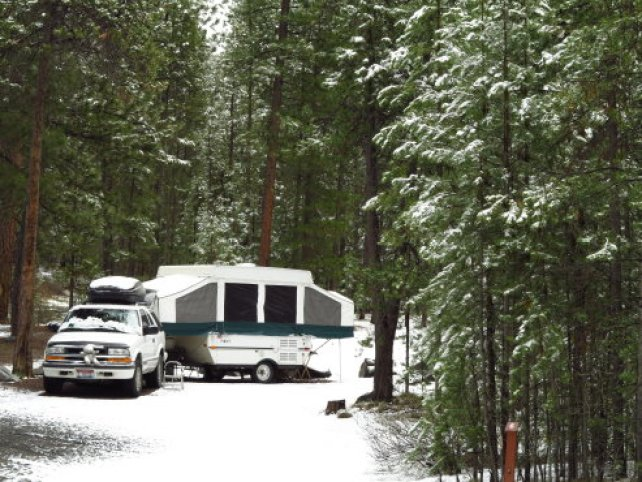 Camping at Paulina Creek 042