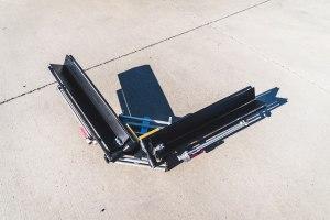 Mach2 Add-on being folded in half