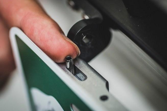 Installing Mach2 license plate holder