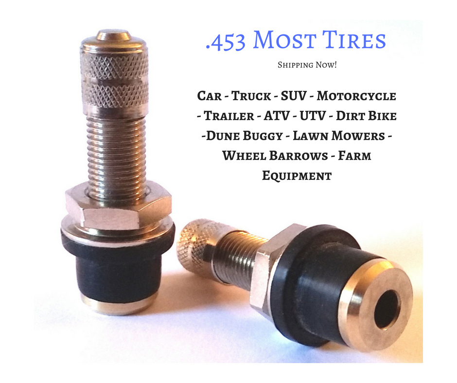 Replace car tyre valve stem