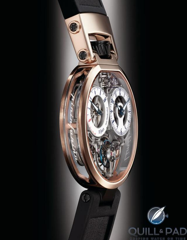 Bovet Ottantasei by Pininfarina in red gold
