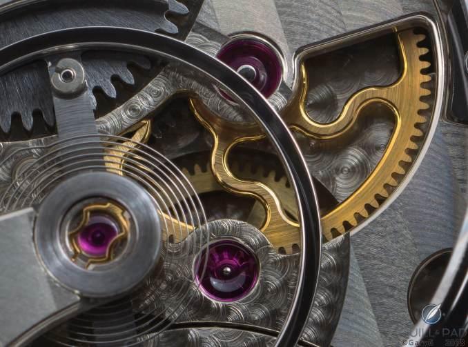 Movement detail, Asaoka Tsunami with octopus wheel