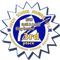 Third Place in 2013 Quill & Scroll Blogging Contest