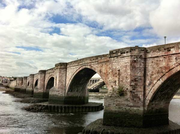 Bridge At Berwick Upon Tweed dramatic view