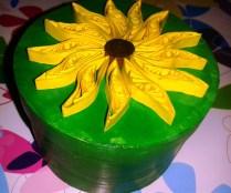 floarea soarelui quilling