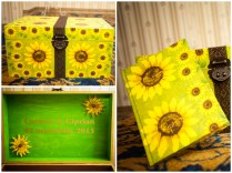 cutie plicuri floarea soarelui quilling for you