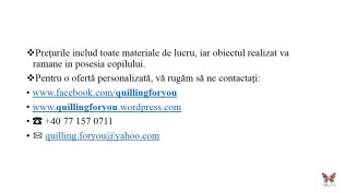Ateliere creative saptamana altfel quilling for you (15)