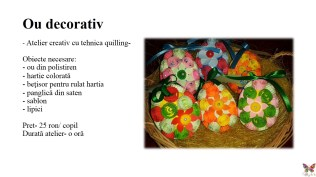 Ateliere creative saptamana altfel quilling for you (8)