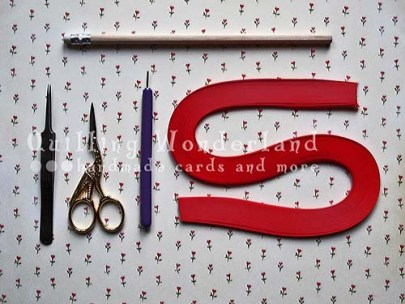 Begginer Quilling Instructions