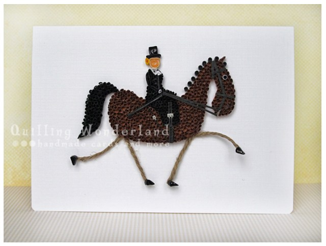 Quilled Side Saddle Lady