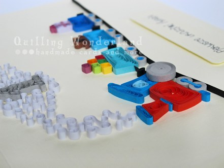quilled Birthday Card -  Papercraft inspiration magazine
