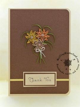 Earthy Thank You card
