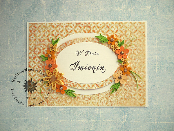 exclusive made to order greeting floral card