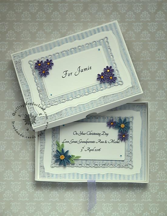 Christening Day Handmade Card