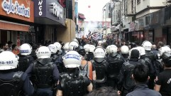 Protestos em Istambul