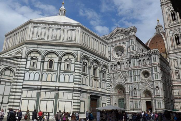 Em Florença na Itália na Basílica de Santa Croce.