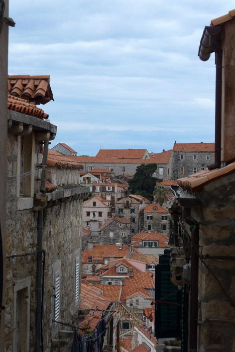 Viagem mota pela Croácia em Dubrovnik