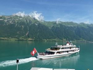 Lago Brienzersee em Interlaken