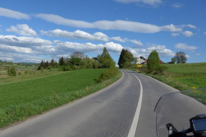 Viagem mota pela Croácia