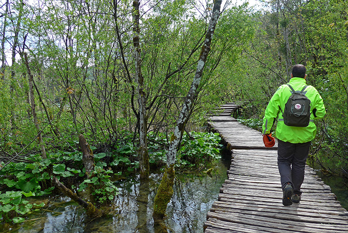 Parque Natural dos Lagos Plitvice. Roteiro pelos Balcãs. Croácia