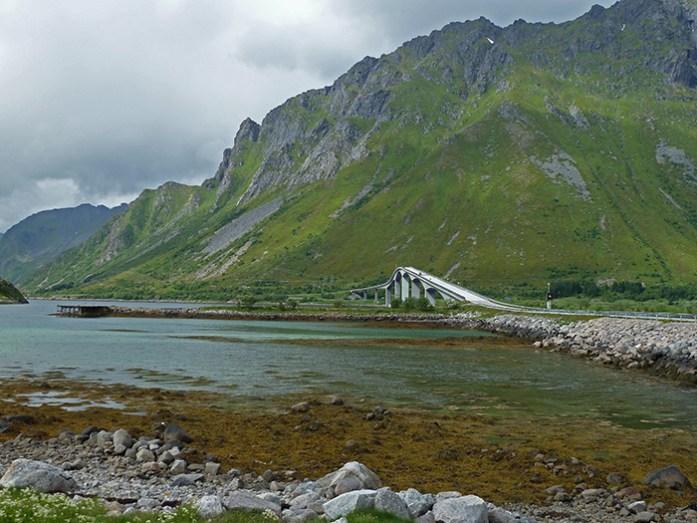 Estrada Costeira E10. Ilhas Lofoten