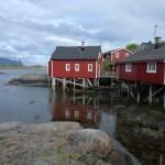 Svinøya Rorbuer. Noruega de mota