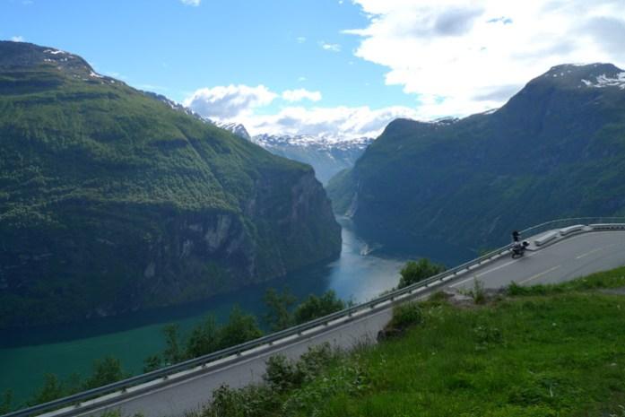 Fiorde de Geiranger. Noruega