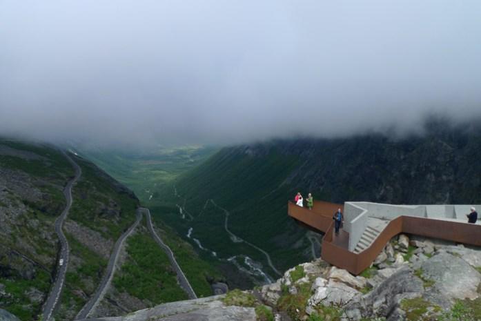 Viagem de mota à Noruega