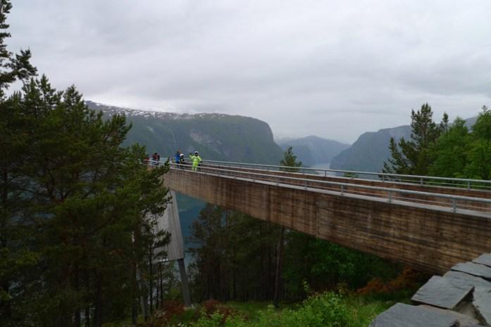 Stegastein de mota pela noruega