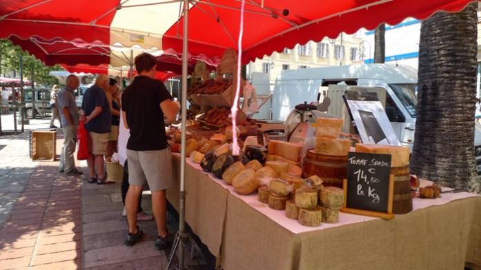 Loja de produtos regionais em Ajaccio
