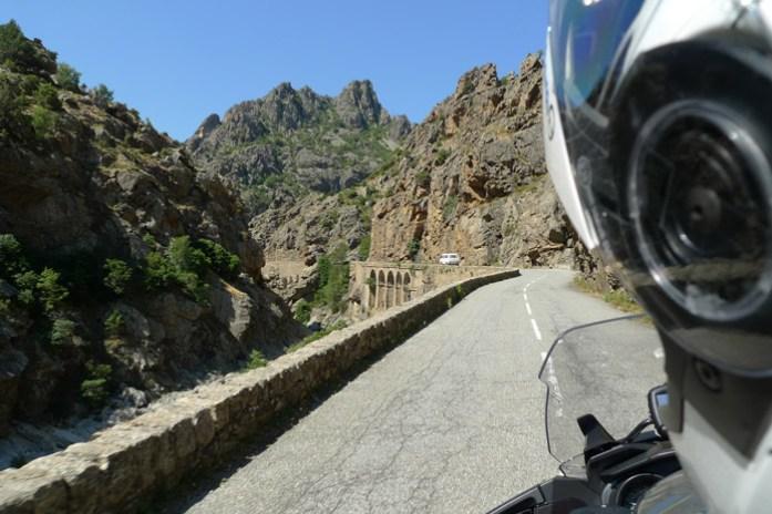 Pela Col de Vergio, histórica rota de montanha na Córsega
