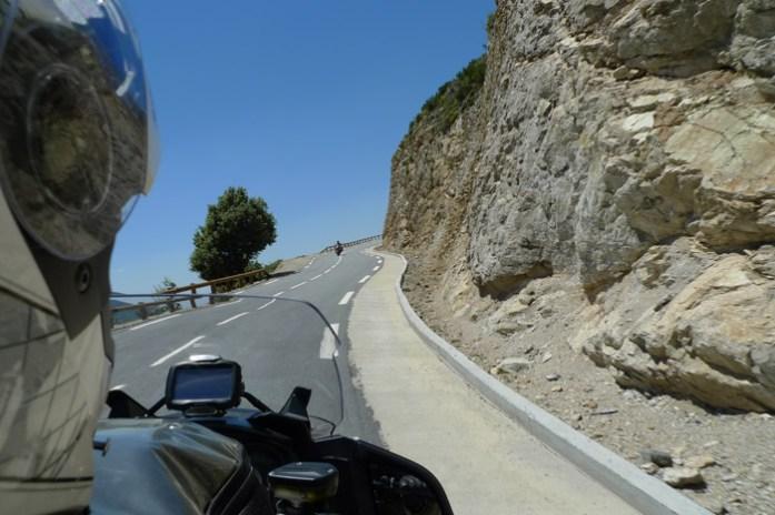 De mota pela Córsega