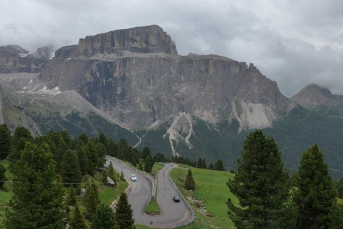 de mota pelos Alpes Italianos