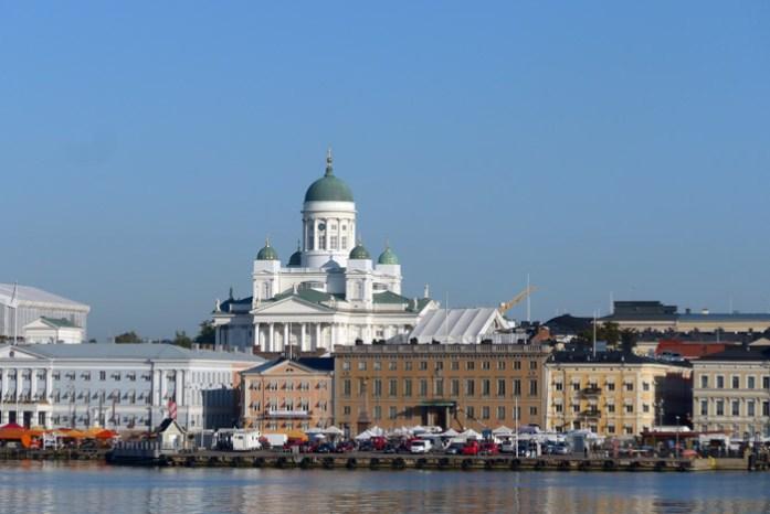 Viagem de mota pela Finlândia